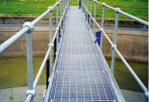 Walkway over water for Water Indistry